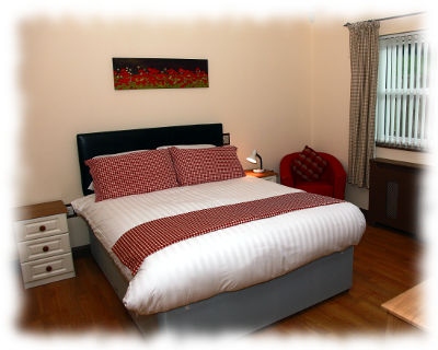 Bedroom 3 – King Size room with en-suite wet room